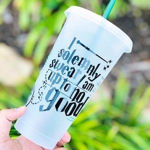 Harry Potter Starbucks Venti cold cup
